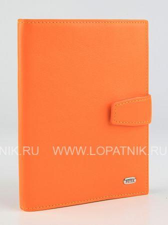 Купить Обложка для паспорта и автодокументов PETEK 595.167.89, Оранжевый, Натуральная кожа