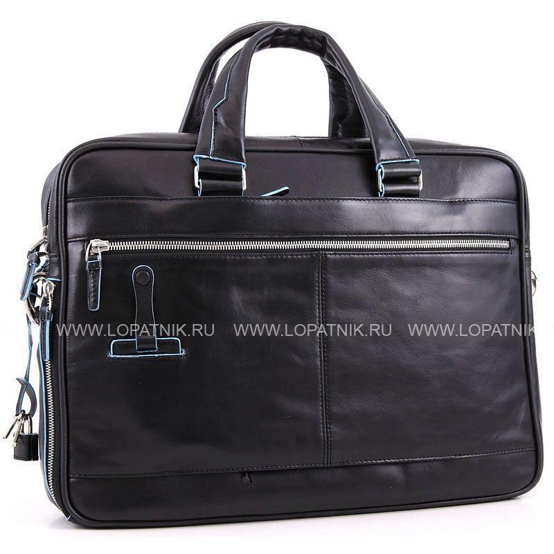 6d7c42887fd0 Сумка для ноутбука и документов Piquadro CA2849B2/N, Черный цена 45 ...