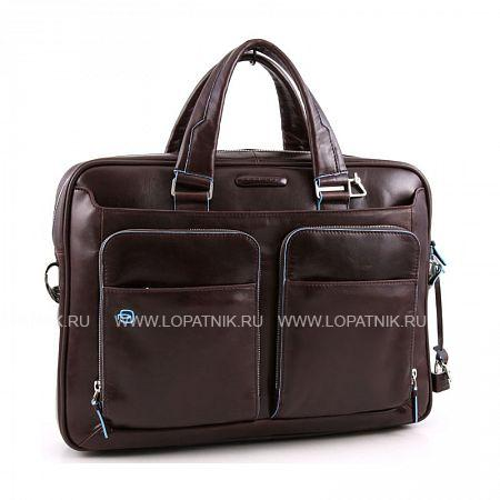 Купить Сумка для ноутбука и документов PIQUADRO CA2849B2/MO, Коричневый, Натуральная кожа