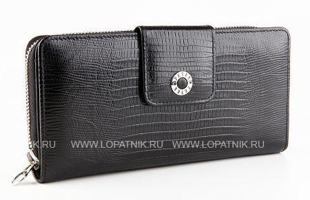 Купить Кошелек женский PETEK 460.041.01, Черный, Натуральная кожа