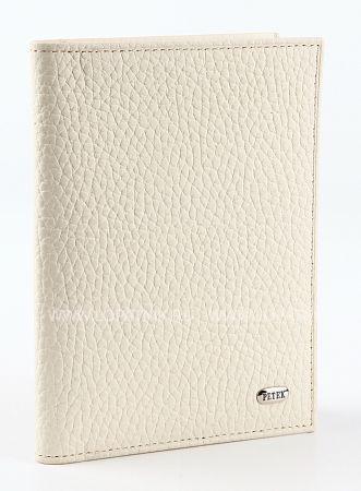 Купить Обложка для автодокументов PETEK 584.46D.84, Белый, Натуральная кожа