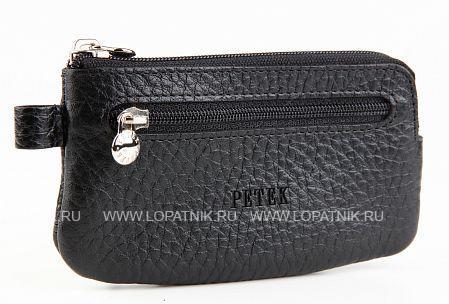Купить Ключница PETEK 535.46B.01, Черный, Натуральная кожа