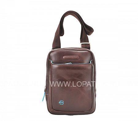 Купить Сумка вертикальная с плечевым ремнем PIQUADRO CA3084B2/MO, Коричневый, Натуральная кожа