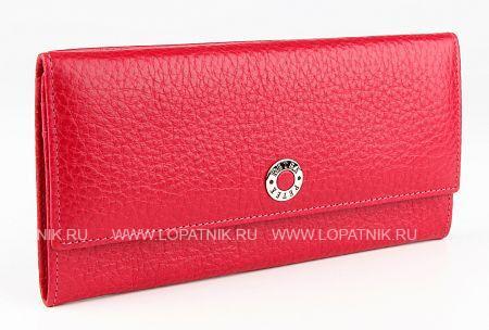 Купить Кошелек женский PETEK 301.46B.44, Красный, Натуральная кожа