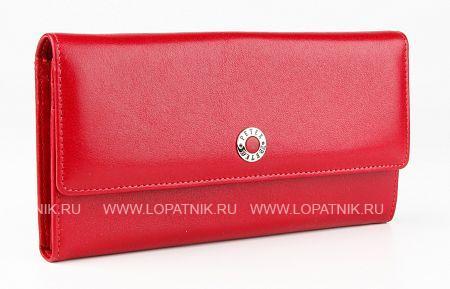 Купить Кошелек женский PETEK 466.4000.10, Красный, Натуральная кожа