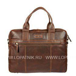 Купить Сумка для ноутбука GIANNI CONTI 1221266 DARK BROWN, Коричневый, Натуральная кожа