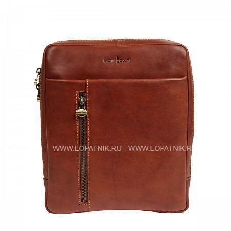 Купить Сумка на плечевом ремне GIANNI CONTI 912303 TAN, Коричневый, Натуральная кожа