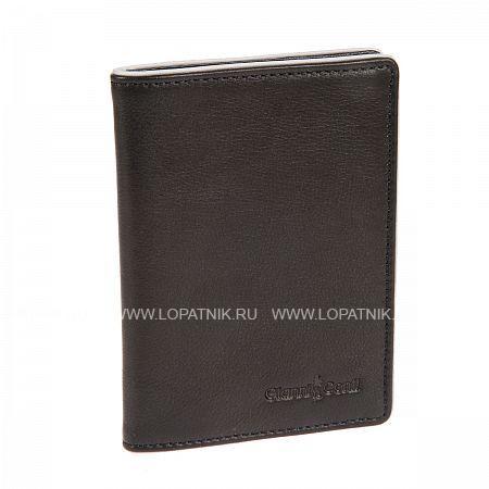 Обложка для паспорта GIANNI CONTI 1757493 BLACK GREY
