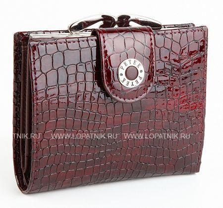Купить Кошелек женский PETEK 336/1.091.03, Бордовый, Натуральная кожа
