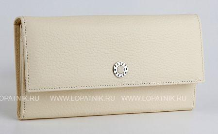 Купить Кошелек женский PETEK 400.46D.84, Бежевый, Натуральная кожа