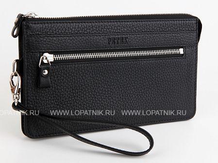 Купить Мужской клатч PETEK 702.46D.01, Черный, Натуральная кожа
