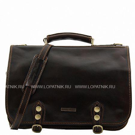 Купить Портфель со съемным плечевым ремнем TUSCANY TL10068-02, Коричневый, Натуральная кожа