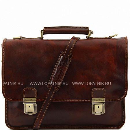 Купить Портфель со съемным плечевым ремнем TUSCANY TL10028-2, Коричневый, Натуральная кожа