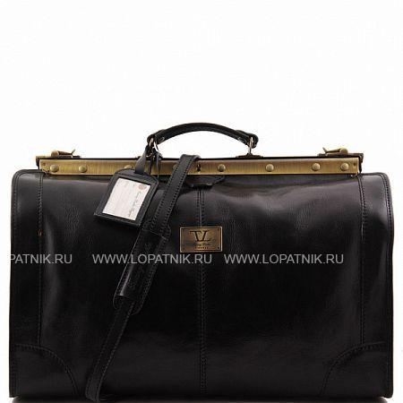 Купить Сумка-саквояж TUSCANY TL1022-1, Черный, Натуральная кожа