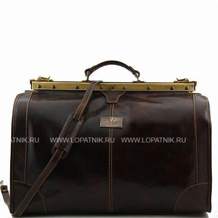 Купить Сумка-саквояж TUSCANY TL1022-02, Черный, Натуральная кожа