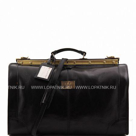 Купить Сумка-саквояж TUSCANY TL1023-1, Черный, Натуральная кожа