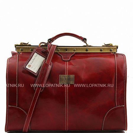 Купить Сумка-саквояж TUSCANY TL1023-3, Красный, Натуральная кожа