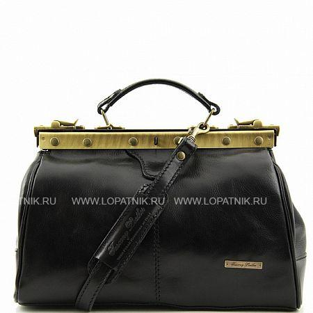 Купить Саквояж TUSCANY TL10038-1, Черный, Натуральная кожа