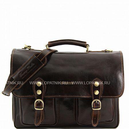 Купить Портфель со съемным плечевым ремнем TUSCANY TL141134-02, Коричневый, Натуральная кожа