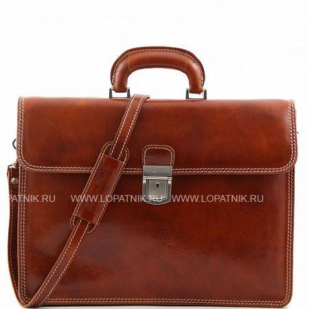 Купить Портфель со съемным плечевым ремнем TUSCANY TL10018-4, Коричневый, Натуральная кожа