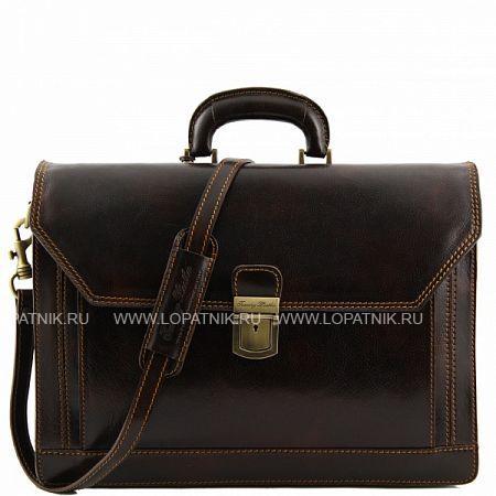 Купить Портфель TUSCANY TL10026-02, Коричневый, Натуральная кожа