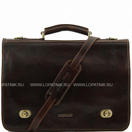 Купить Портфель со съемным плечевым ремнем TUSCANY TL10054-02, Коричневый, Натуральная кожа