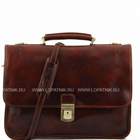 Купить Портфель со съемным плечевым ремнем TUSCANY TL10029-2, Коричневый, Натуральная кожа