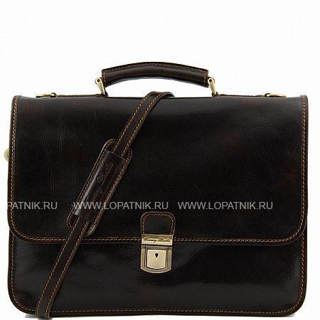 Купить Портфель со съемным плечевым ремнем TUSCANY TL10029-02, Коричневый, Натуральная кожа