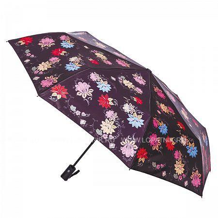 Купить Зонт складной женский FLIORAJ 190204 FJ, Черный, Разноцветный