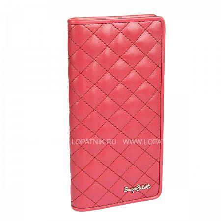 Купить Портмоне женское SERGIO BELOTTI 3180 SIGN RUBINO, Красный, Натуральная кожа