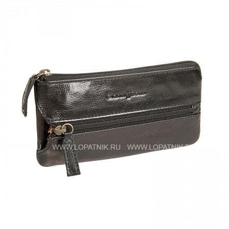 Купить Ключница GIANNI CONTI 709735 BLACK, Черный, Натуральная кожа