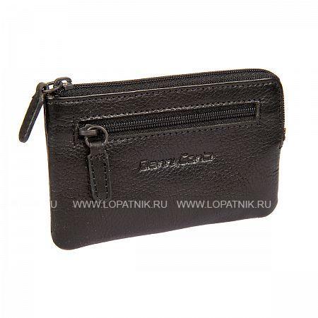 Купить Ключница GIANNI CONTI 1139073E BLACK, Черный, Натуральная кожа
