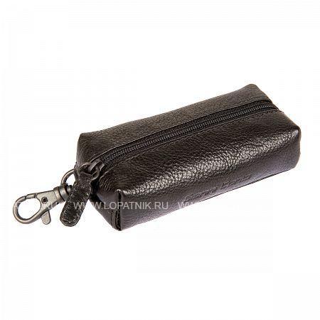 Купить Ключница GIANNI CONTI 1139075E BLACK, Черный, Натуральная кожа