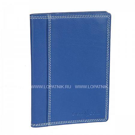 Купить Обложка для паспорта GIANNI CONTI 1807455 EL.BLUE MULTI, Синий, Разноцветный, Натуральная кожа