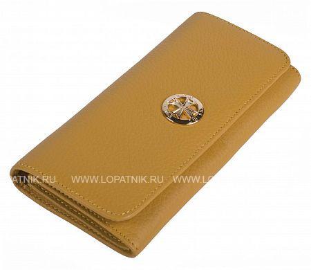 Купить со скидкой Женский кошелек из натуральной кожи VASHERON 9572-N.POLO YELLOW