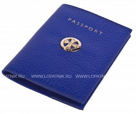 Купить со скидкой Обложка для паспорта VASHERON 9161-N.POLO ULTRA BLUE