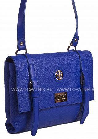 Купить Сумка кожаная женская VASHERON 9955-N.POLO ULTRA BLUE, Синий, Натуральная кожа