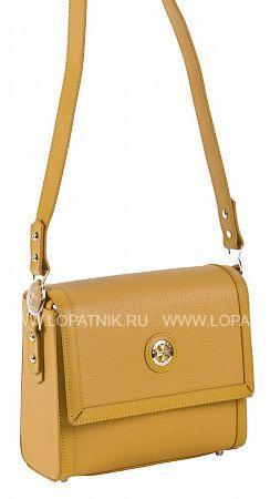 Купить Сумка кожаная женская VASHERON 9983-N.POLO YELLOW, Желтый, Натуральная кожа