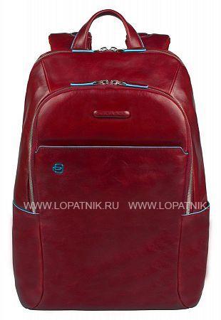 Купить Рюкзак PIQUADRO CA3214B2/R, Красный, Натуральная кожа