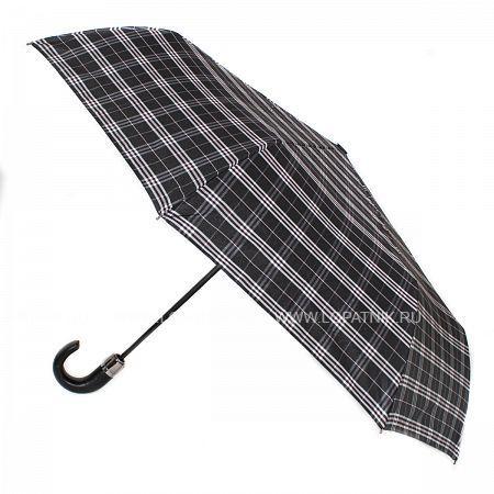Купить Зонт складной мужской FLIORAJ 31004 FJ, Черный, Серый