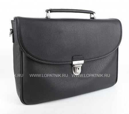 Купить Портфель кожаный мужской TONY PEROTTI 563412/1, Черный, Натуральная кожа