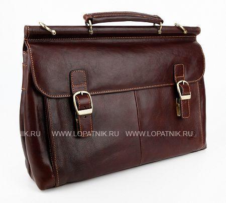 Купить Портфель с съемным плечевым ремнем TONY PEROTTI 331464/2, Коричневый, Натуральная кожа