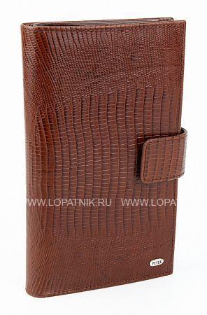 Купить Портмоне кожаное мужское PETEK 2394.041.02, Коричневый, Натуральная кожа