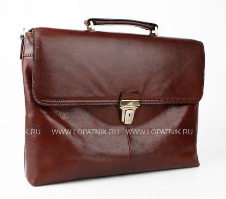 Купить Мужской кожаный портфель TONY PEROTTI 303419/2, Коричневый, Натуральная кожа