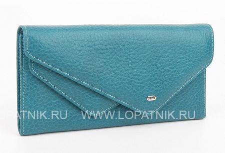 Купить Женский кожаный кошелек PETEK 402.46B.32, Бирюзовый, Натуральная кожа