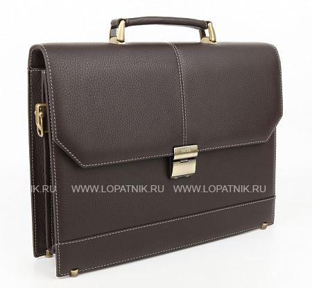 Купить Мужской портфель из кожи PETEK 791.46D.KD2, Коричневый, Натуральная кожа