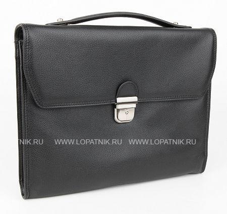 Купить Портфель кожаный мужской BRUNO PERRI L4231-1/1, Черный, Натуральная кожа