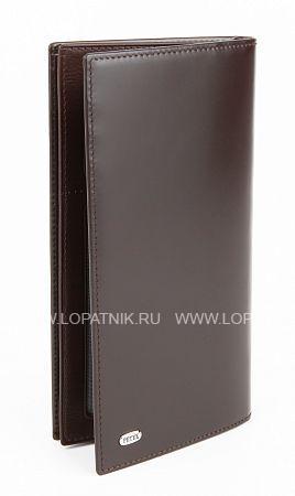Купить Мужское кожаное портмоне PETEK 244.M51.02, Коричневый, Натуральная кожа