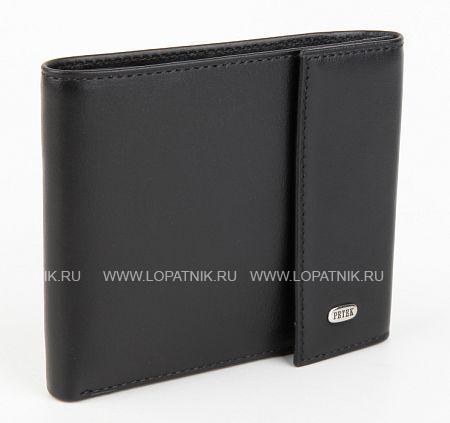 Купить Мужское кожаное портмоне PETEK 291.000.01, Черный, Натуральная кожа