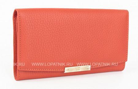 Купить Женский кожаный кошелек PETEK S15013.46D.105, Оранжевый, Натуральная кожа
